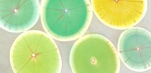 SOLD-151920 - lemons & limes 2 - 22 x 22